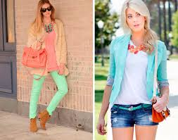 what color goes with green mint green trend how to wear mint green fashionisers