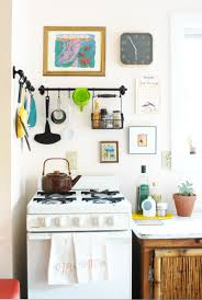 a living space art and ikea in the kitchen