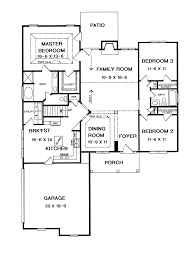 First Floor Master House Plans by Summerdale Ranch Home Plan 076d 0083 House Plans And More