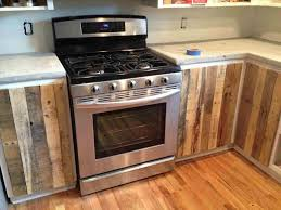 Building Kitchen Cabinets Kitchen Cabinets Using Old Pallets In Kitchen Cabinets From