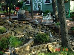 Slope Landscaping Ideas For Backyards Landscaping Ideas For Sloped Back Yard Landscaping Steep Slopes