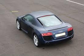 Audi R8 Jet Blue - audi r8 thrill