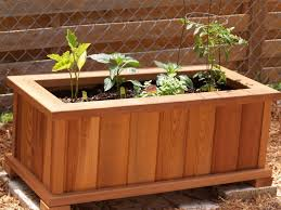 How To Make A Wooden Patio How To Build A Garden Box Home Outdoor Decoration