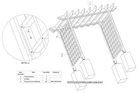 Pergola Free Plans by Complete Diy Pergola Plans Free Download My Ideas