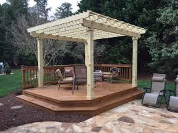 Patio Deck Cost by Deck Building Cost