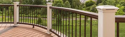 Decking Kits With Handrails Composite Deck Railing Kits Deckorators Timbertech Trex And