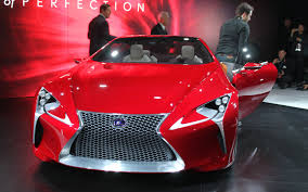 lexus lf lc blue concept 2012 detroit 2012 lexus u0027 lf lc concept shows its distinctive face