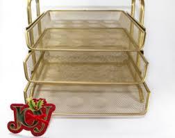 desk tray gold desk organizer gold desk accessories gold