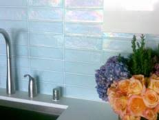 SelfAdhesive Backsplashes Pictures  Ideas From HGTV HGTV - Stick on backsplash for kitchen