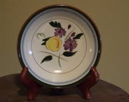 stangl pottery fruit and flowers stangl fruit bowl etsy