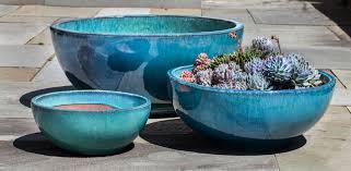 yuma bowl planters set of 3 henfeathers com