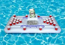 floating table for pool pool beer pong table cool gifts cool kaboodle
