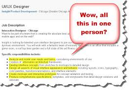 Responsibilities Of An Interior Designer by Ux Designer Job Description Examples Of Job Responsibilities