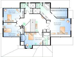 4 bedroom house plans 2 story country house plan 4 bedrooms 0 bath 2768 sq ft plan 5 296