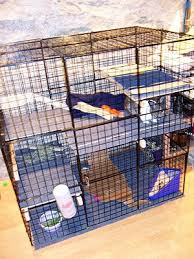 Make A Rabbit Hutch Housing Your Rabbit Indoors Rabbit Cages Bunny Condos