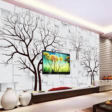 beibehang 3d dream wood mural europe tv backdrop brick wallpaper