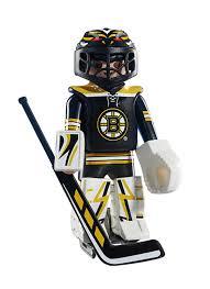 boston bruins home decor amazon com playmobil nhl boston bruins goalie toys u0026 games