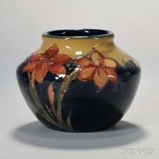 Moorcroft Clematis Vase Search All Lots Skinner Auctioneers