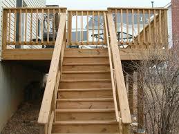 deck stair railing height home u0026 gardens geek