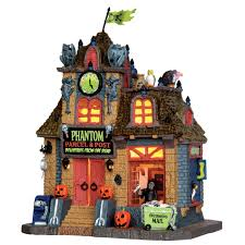 lemax spooky town collection phantom parcel u0026 post seasonal