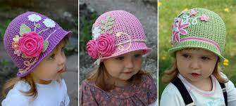 easter bonnets and easter free crochet hats and bonnets patterns
