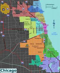 Boystown Chicago Map by Integrated Chicago Districts Map Png
