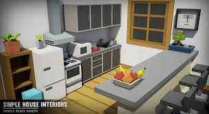 simple home interiors simple house interiors by synty studios in environments ue4
