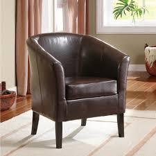 linon home simon club chair multiple colors walmart com