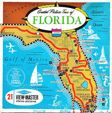 Clearwater Beach Florida Map by View Master States Florida Pinterest View Master And