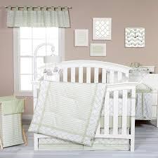 White Crib Bedding Sets amazon com trend lab sea foam 3 piece crib bedding set sage baby