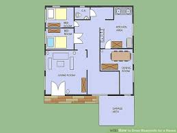 The Notebook House Floor Plan How To Draw Blueprints For A House 8 Steps With Pictures