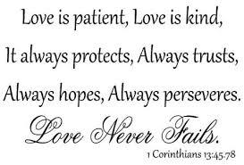 Wedding Quotes Bible Love Love Is Patient Love Is Kind Quote Love Is Patient Love Is Kind