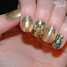 a little polish celebrate with st patrick u0027s day with incoco nail