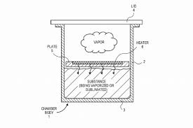 apple has filed a patent for some sort of vaporizer the verge