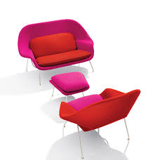 eero saarinen u0027s womb settee and womb chair pc knoll knoll
