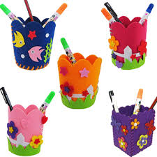 aliexpress com buy creative handmade flower pen container diy