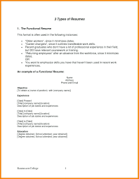 easy resume format different types of resume format easy portrait formats for resumes