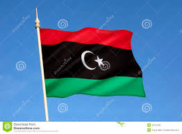 Libyas Flag Flag Of Libya North Africa Stock Photo Image Of Colors Libya