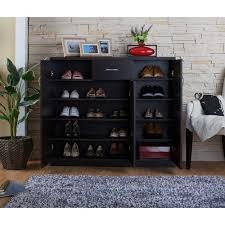 30 pair shoe cabinet hokku designs janson 30 pair shoe storage cabinet walmart com