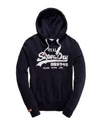 superdry vintage logo hoodie the iconic hoodie from superdry