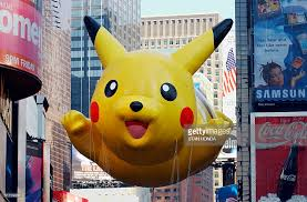the pikachu balloon sponsored by the pictures getty