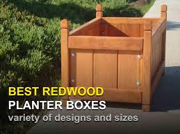 Redwood Planter Boxes by Best Redwood