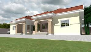 Home Design For Rectangular Plot Home Plans For Bungalows In Nigeria Properties 1 Nigeria