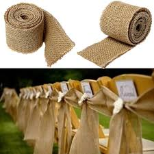wholesale burlap ribbon 300x6cm vintage jute hessian burlap ribbon rustic weddings