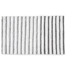 Gray And White Bathroom Rugs Buy Silver Bathroom Rugs From Bed Bath U0026 Beyond