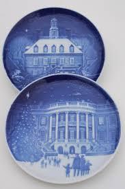 vintage b g royal copenhagen in america series blue