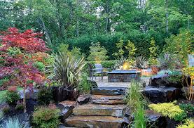 Rock Garden Bellevue Custom Outdoor Pits Gallery Alderwood Landscaping