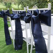 chair sashes for wedding navy blue satin chair sashes europe chair cover sash for wedding