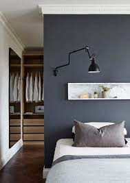Male Bedroom Colors View In Gallery Refined Use Of Gray And - Bedroom painting ideas for men