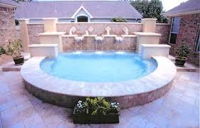 Small Backyard Ideas With Pool Pool Design Ideas For Small Backyards In Austin Texas Pool U0026 Patios
